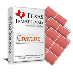 Creatine Supplement Transdermal Patch