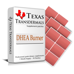 Each contains: 30 DHEA Burner Patches - One month supply.